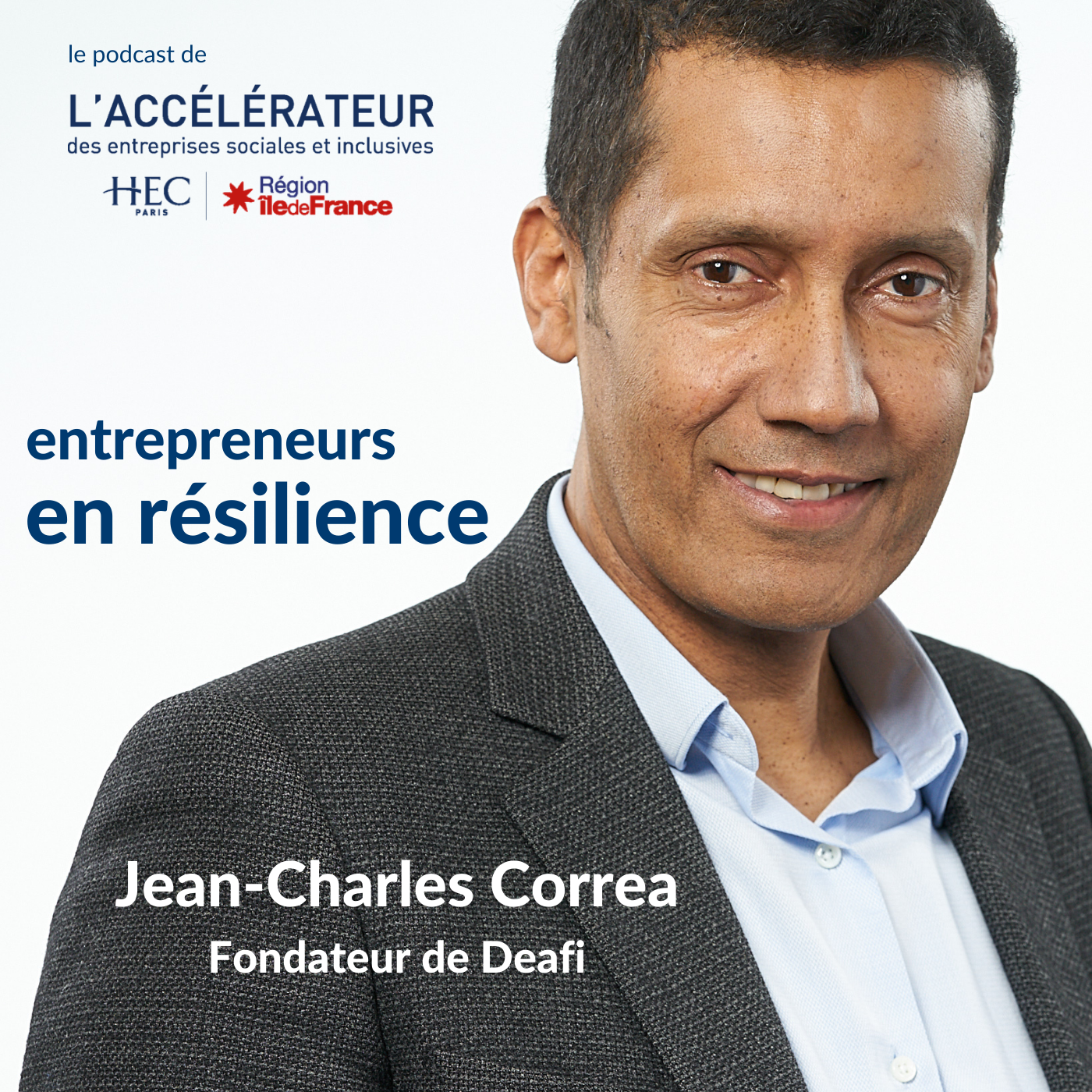 Jean-Charles Correa témoigne dans le podcast «Entrepreneurs en résilience»